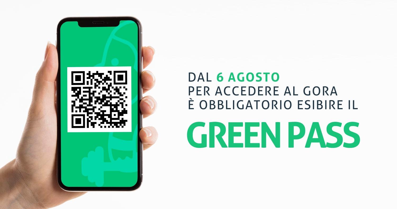 Green Pass Accesso covid free